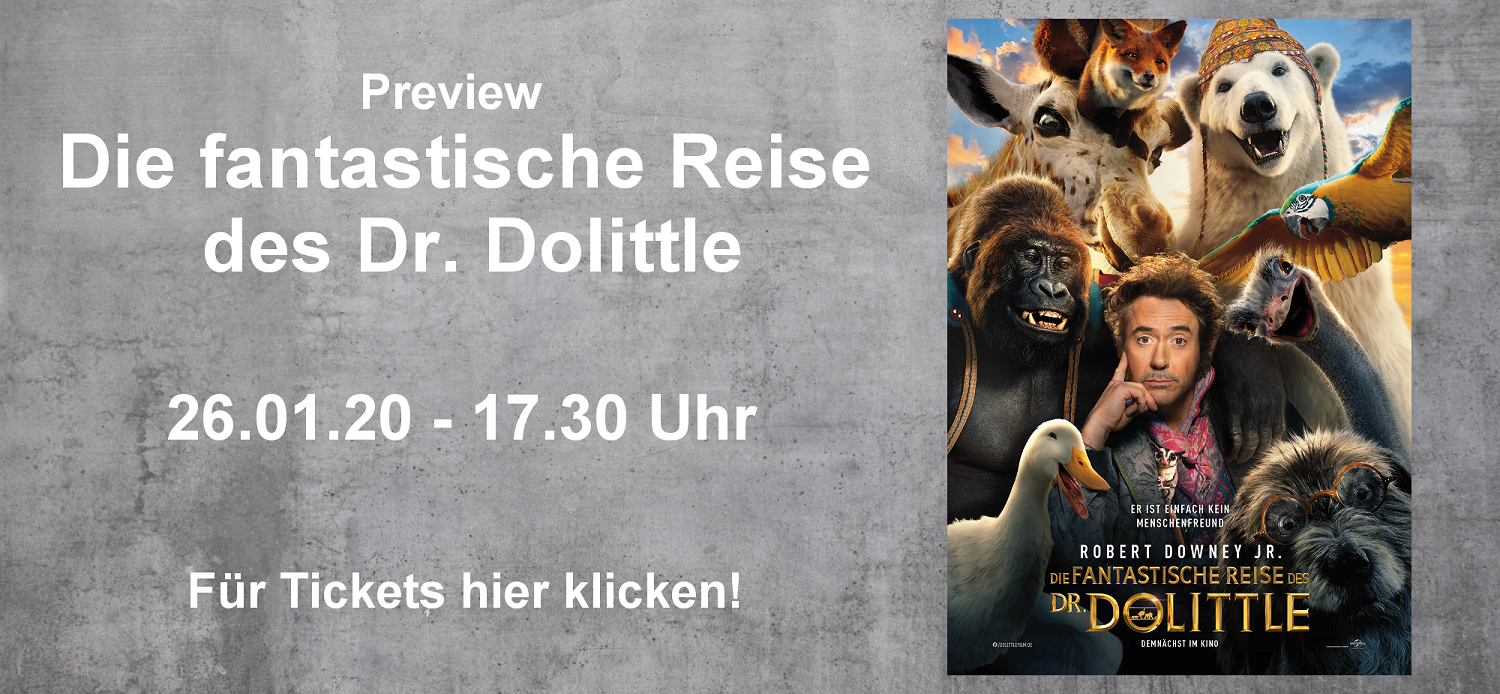 Preview DR. DOLITTLE
